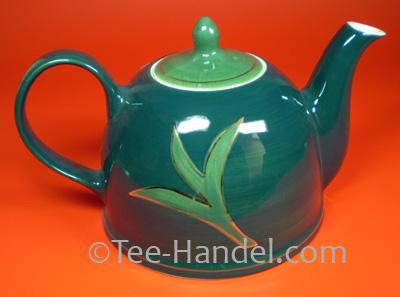 teekanne golden leaf 1 7l teekannen aus keramik keramik teekannen tee. Black Bedroom Furniture Sets. Home Design Ideas